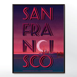San Francisco Bay Poster Print