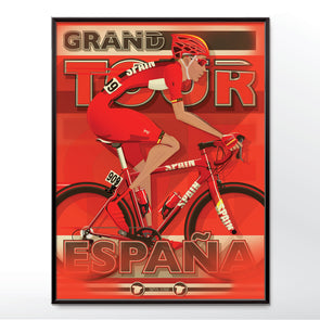 Vuelta a España Bicycle Bike Poster