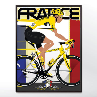 Tour De France Yellow Jersey Poster - wyatt9.com