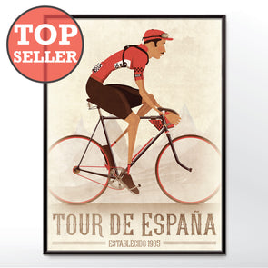 Vuelta a España Grand Tour Bicycle Poster