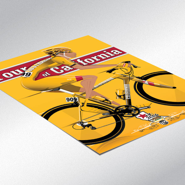 Tour of California Bicycle Race Cycling Poster - wyatt9.com