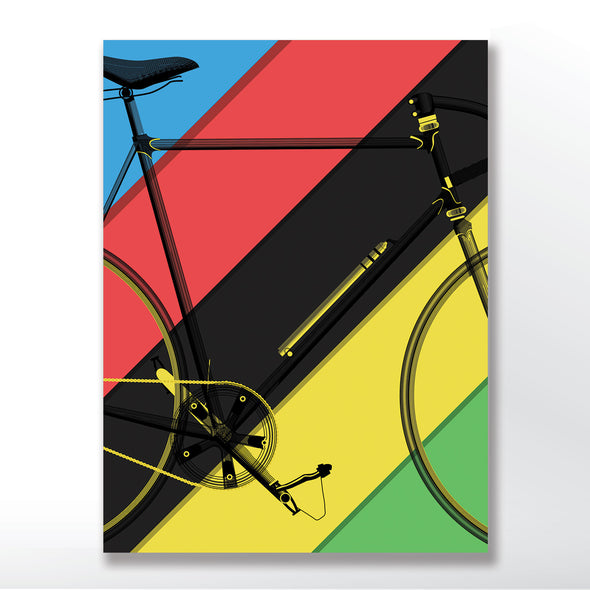 poster of world championship cycling colours - wyatt9.com