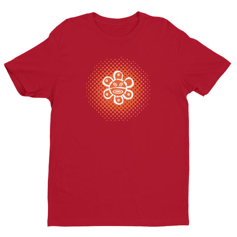 Men's T-Shirt - Sol Taino Orange | Oceanupr : Oceanü del Caribe