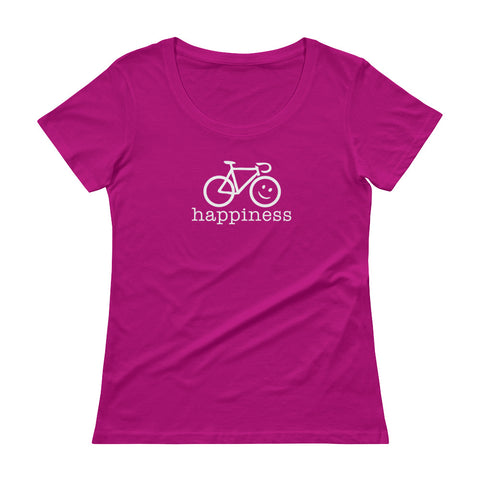 Women's T-Shirt<br>Cycling Happiness