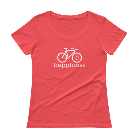 Women's T-Shirt<br>MTB Cycling Happiness