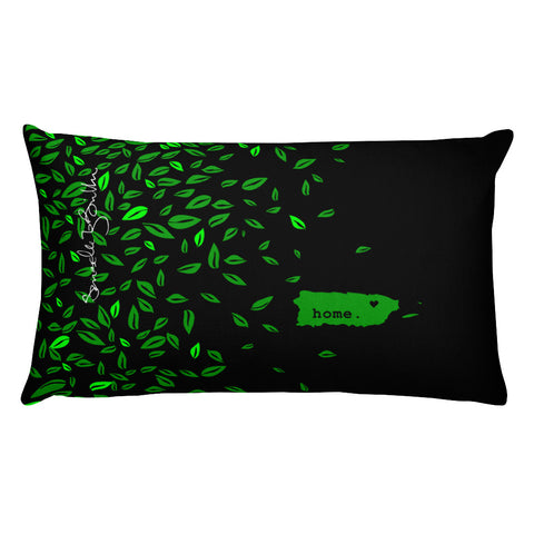 Rectangular Throw Pillow - Home Puerto Rico Cojines