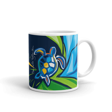 Coffee Mug 11oz Tortuga Turtle Taza