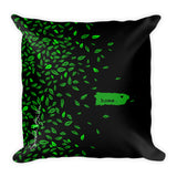 Square Throw Pillow - Home Puerto Rico Cojines
