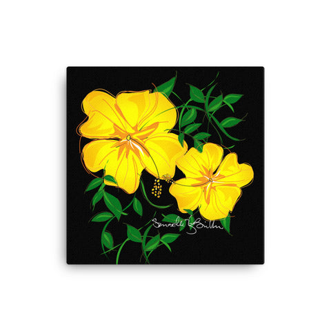 Canvas Print 12in / 16in - Amapola Amarilla Wall Decor Puerto Rico