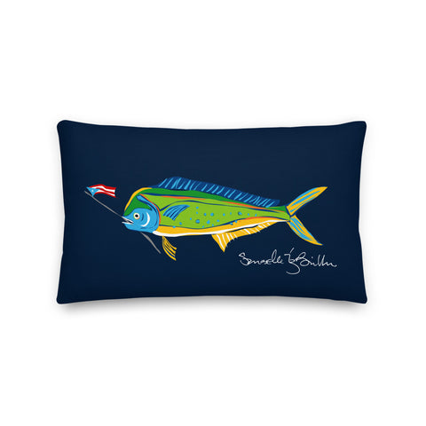 Rectangular Pillow<br>Dorado Tropical