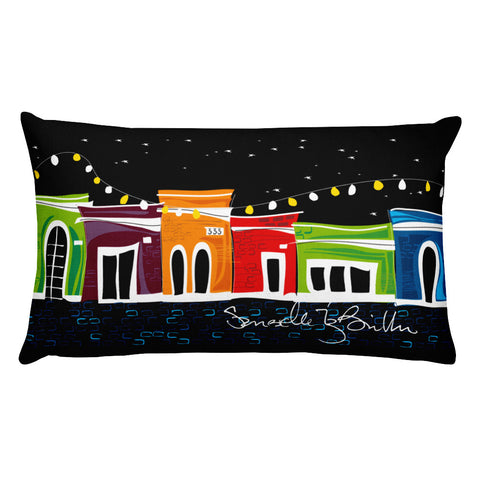 Rectangular Throw Pillow - San Juan Cojines Puerto Rico