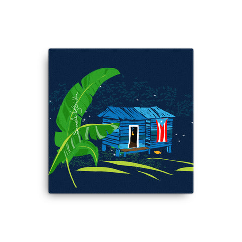 Canvas Print 12in / 16in - Se Respira Paz Wall Decor Puerto Rico