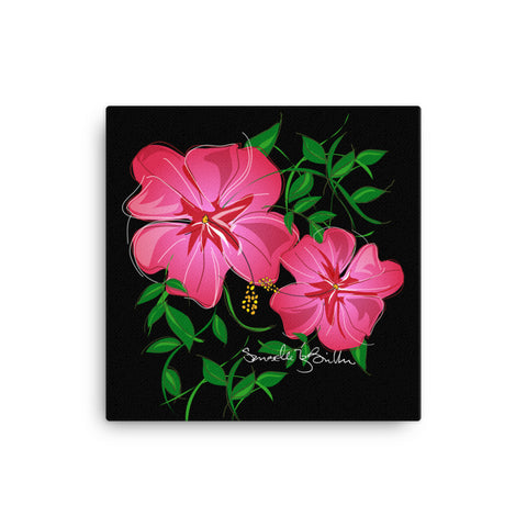 Canvas Print 12in / 16in - Amapola Rosada Wall Decor Puerto Rico