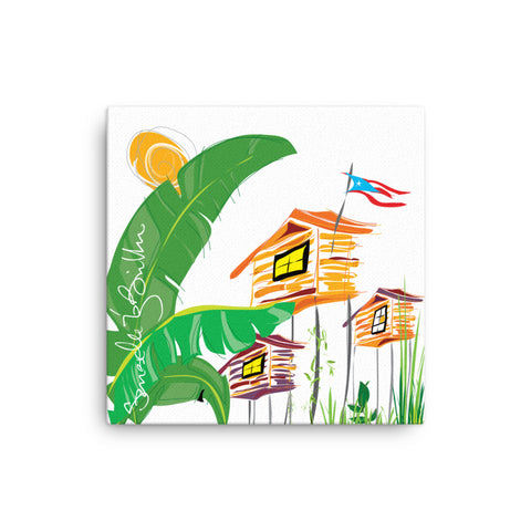Canvas Print 12in / 16in - Brisas del Campo Wall Decor Puerto Rico