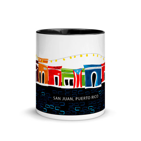 Black Colored Coffee Mug 11oz - San Juan Taza