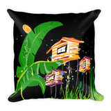 Square Throw Pillow - Colores del Campo | Cojines Puerto Rico