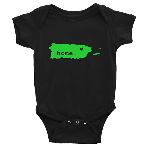 Infant Bodysuit - Home Green | Oceanupr : Oceanu del Caribe