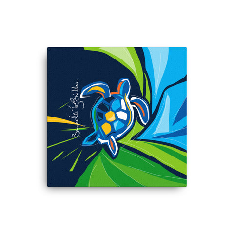 Canvas Print 12in / 16in - Tortuga Turtle Wall Decor Puerto Rico