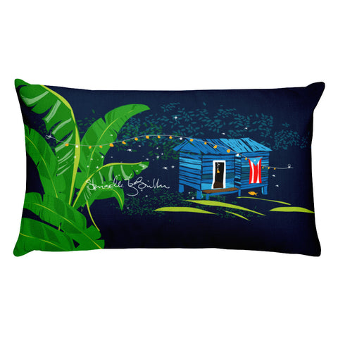 Rectangular Throw Pillow - Se Respira Paz Cojines