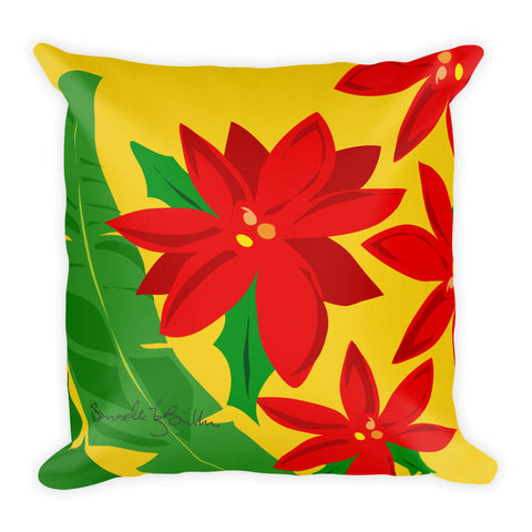 Square Throw Pillow - Pascua Puerto Rico Cojines