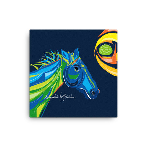 Canvas Print 12in / 16in - Caballo Horse Wall Decor Puerto Rico