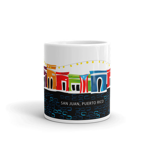 Coffee Mug 11oz San Juan Taza