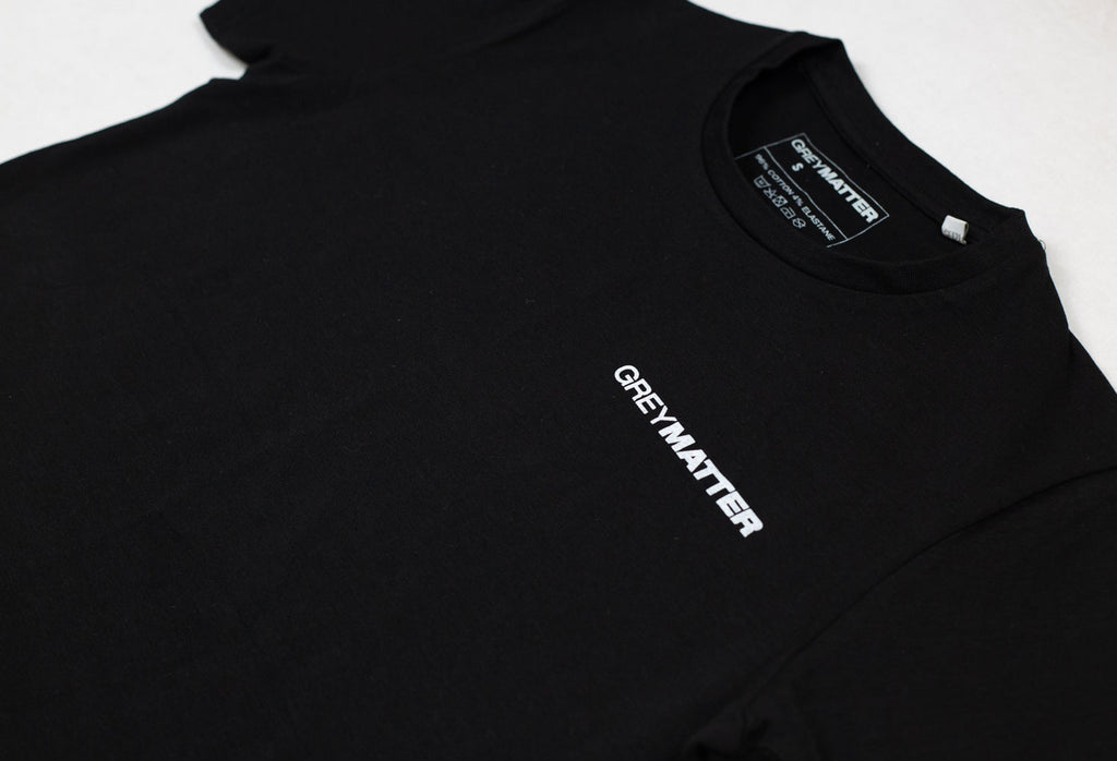 grey-matter-apparel - SEASON TWO - FITTED T-SHIRT - BLACK