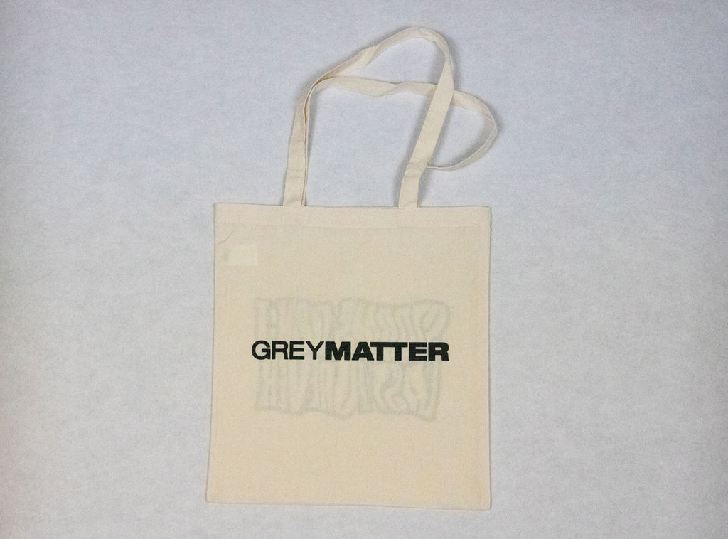grey-matter-apparel - SEASON TWO - 'STORMS DON'T LAST FOREVER' TOTE BAG