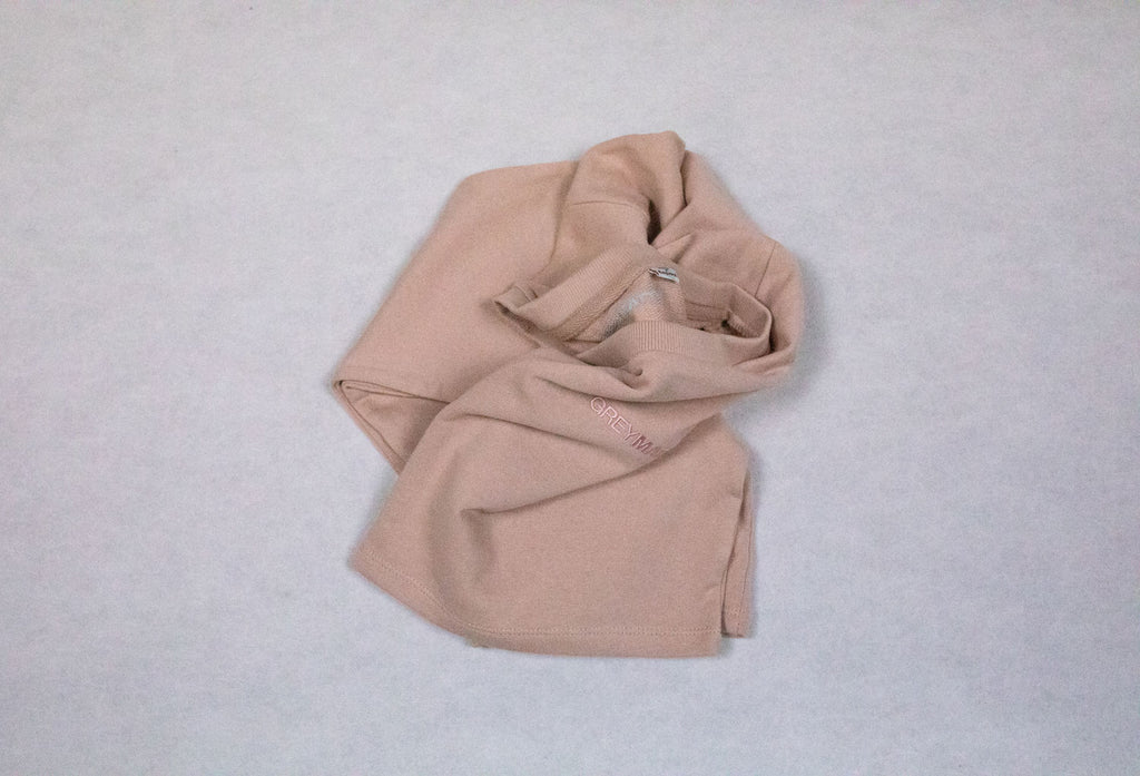 grey-matter-apparel - SEASON TWO - CROPPED JUMPER - TONAL PINK
