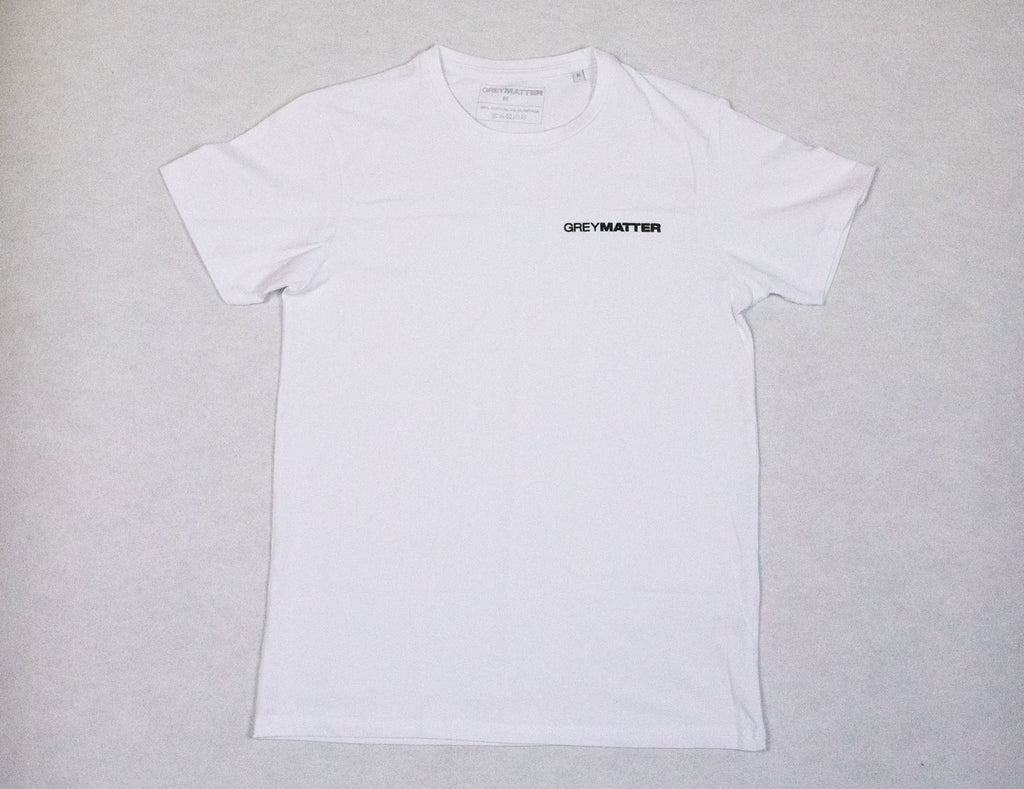 grey-matter-apparel - SEASON TWO - FITTED T-SHIRT - WHITE
