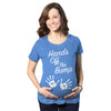 Hands Off The Bump Maternity Tshirt