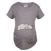 Cat On Baby Bump Maternity Tshirt