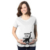 Hoping For A Dinosaur Maternity Tshirt