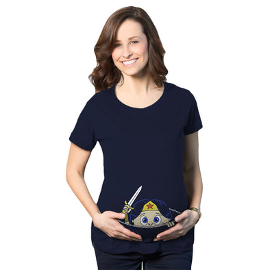 Peeking Captain Maternity Tshirt