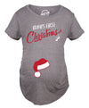Bump's First Christmas Maternity Tshirt
