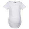 Comfortable 6 Pack Maternity Shirts Blank Pregnancy Shirts Plain Fitted Tees
