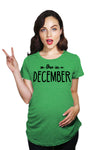 Due In December Maternity Tshirt