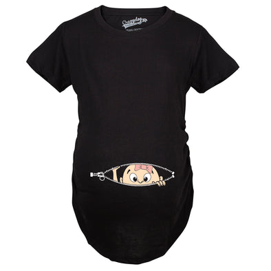 ec7c2f994d470 Funny Maternity T Shirts Pregnancy Announcement Gifts Baby Bump Tees ...
