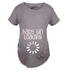 Baby Girl Loading Maternity Tshirt
