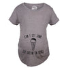 Can I Get Some Ice Cream In Here Maternity Tshirt