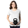 Mommy's Workout Buddy Maternity Tshirt