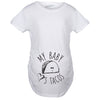 My Baby Loves Tacos Maternity Tshirt