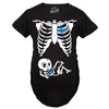 Skeleton Baby Boy Maternity Tshirt