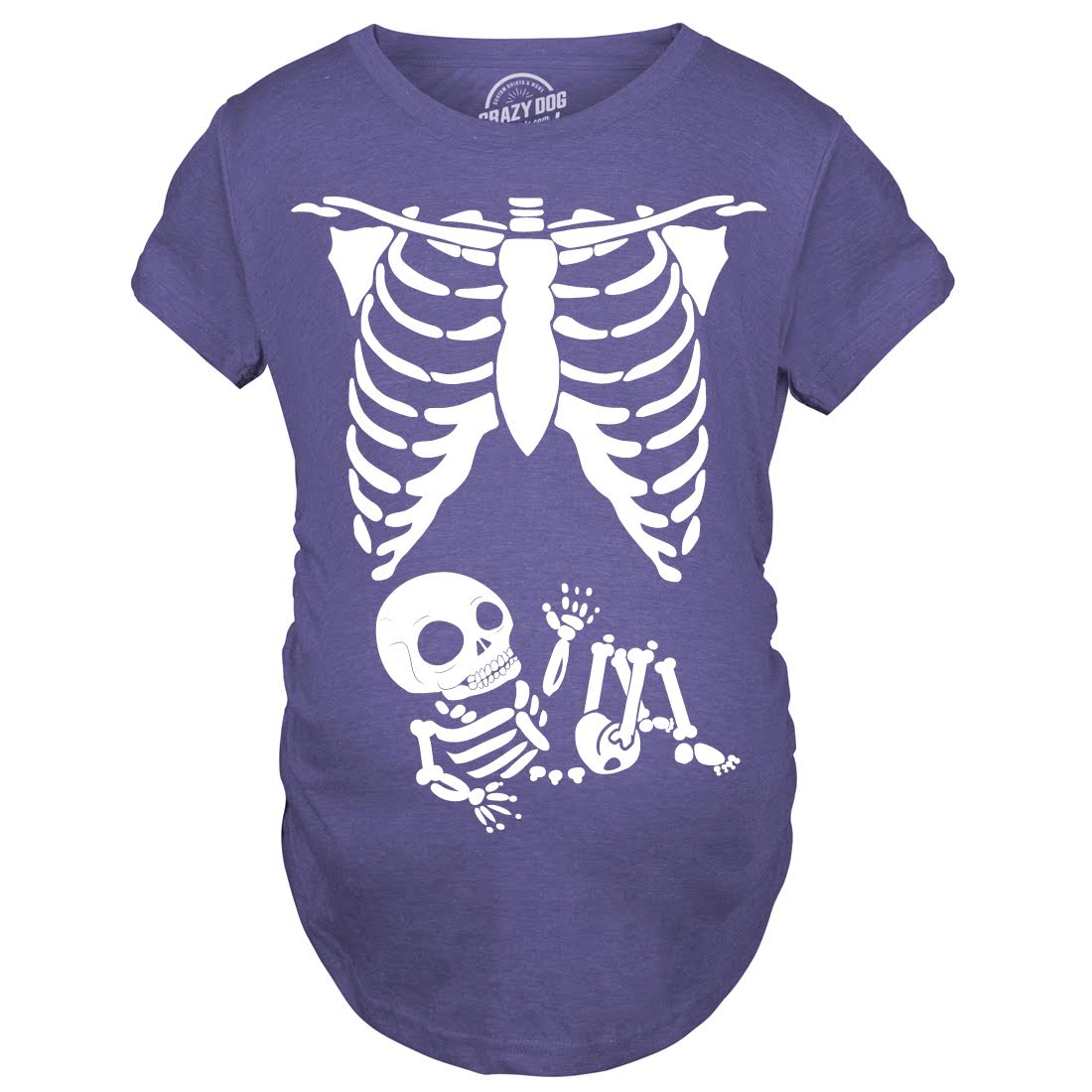 maternity skeleton baby t shirt halloween costume funny pregnancy