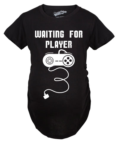 Waiting For Player 3 Maternity Tshirt