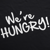 We're Hungry Maternity Tshirt