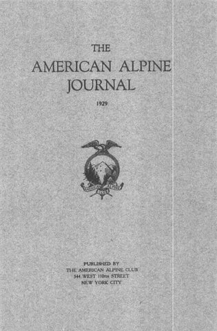 Digital Edition — 1929 AAJ