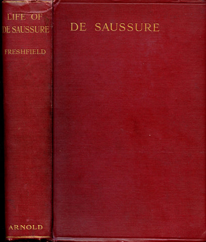 The life of Horace-Benedict de Saussure