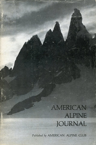 1974 - American Alpine Journal