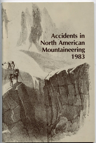 1983 Accidents in North American Mountaineering